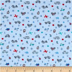 Lecien Minny Muu Tiny ABC Blue