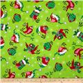 Kanvas Holiday Christmas Novelty Birds Gone Xmas Lime