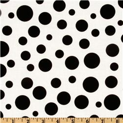 Michael Miller Lolli Dot Ebony Fabric