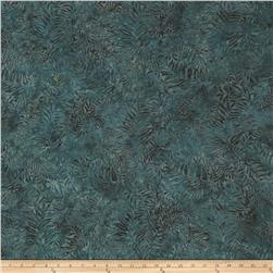Island Batik Fern Dark Green