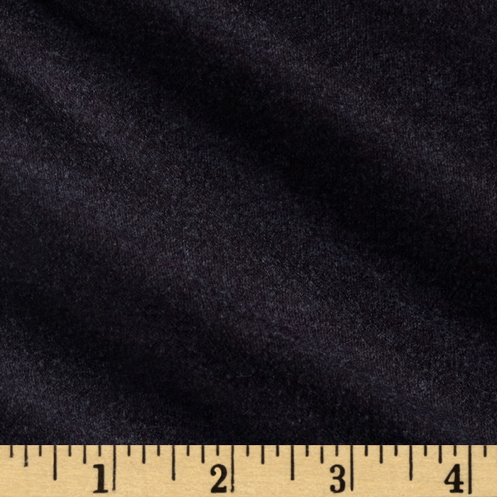 Stretch Solid Jersey Knit Eggplant Fabric
