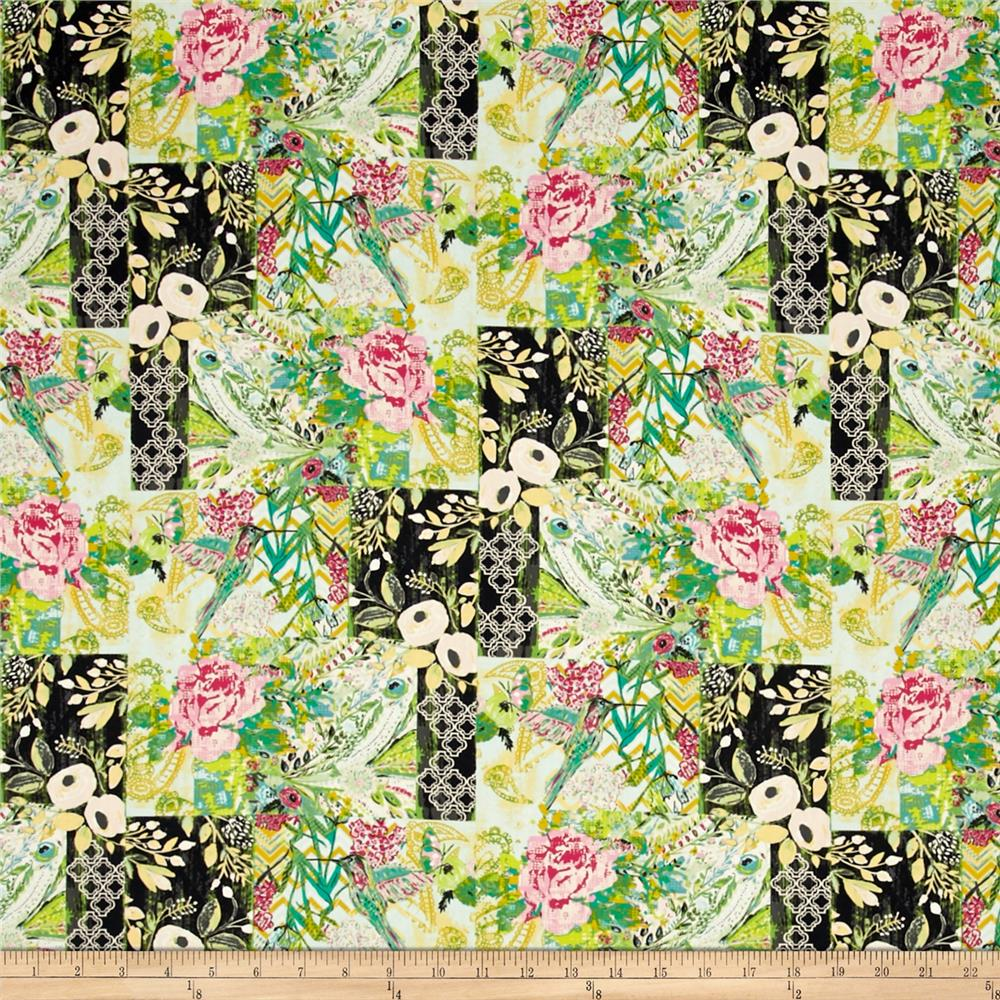 Art Gallery Millie Fleur Collage Poise Glam Fabric