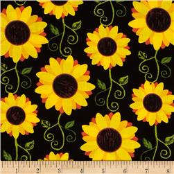 Kanvas Fall Festival Sunflower Delight Black