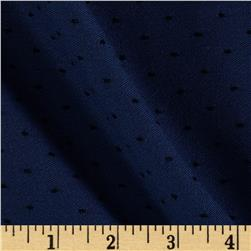 Chicago Jacquard Stretch Denim Pindot Midnight Blue/Black