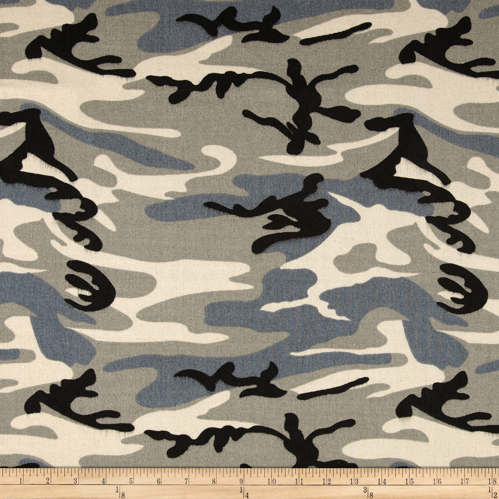 9 oz. Canvas Camouflage Grey