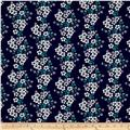 Sweet Florals Bouquet Navy