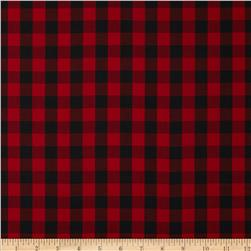 Kaufman House of Wales Plaid Red
