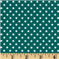 Moda Dottie Small Dots Lagoon