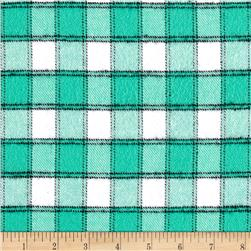 Marcus Primo Plaids Color Crush Flannel Small Block Aqua