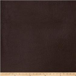 Fabricut Bronze Faux Leather Chocolate