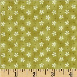 Peaceful Pastimes Mini Daisy w/ Dot Green