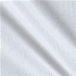 Stretch French Terry Solid Ivory