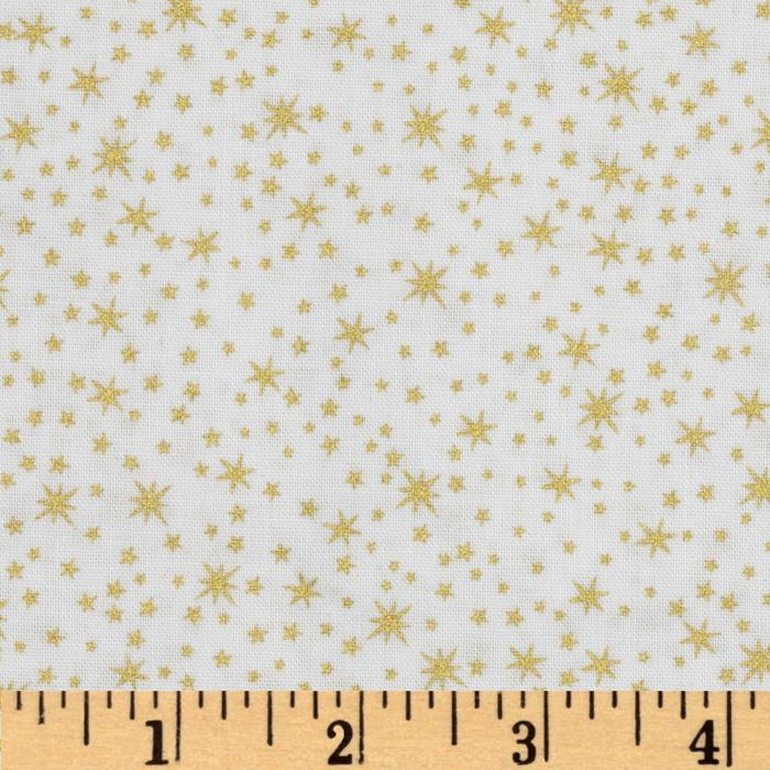 Metals Stars White/Gold