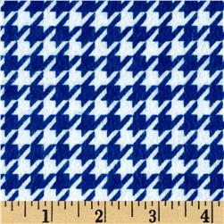 Flannel Houndstooth Blue