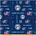 NHL Broadcloth Columbus Blue Jackets
