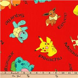 Kaufman Pokemon Characters Red