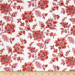 Palm Court Small Jacobean Floral Ivory