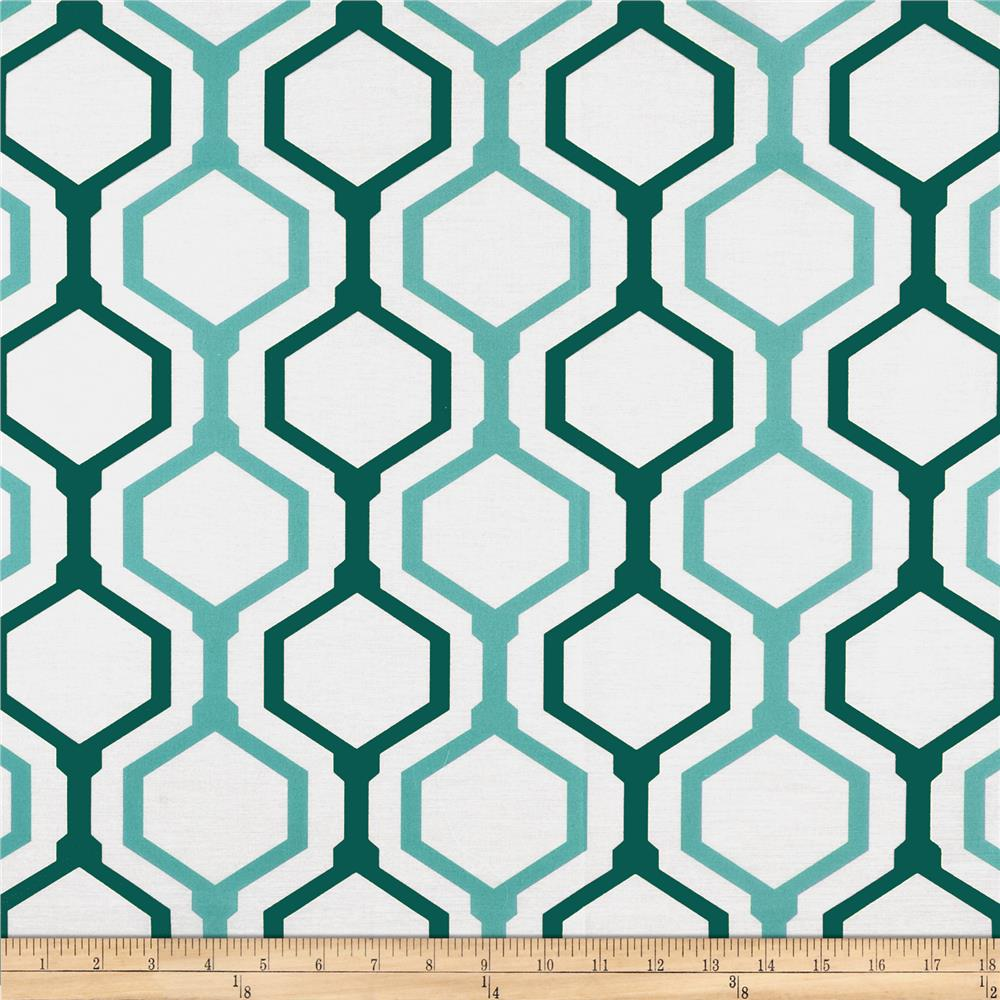 RCA Geometric Sheers Teal/Blue