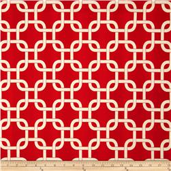 Premier Prints Indoor/Outdoor Gotcha American Red Fabric
