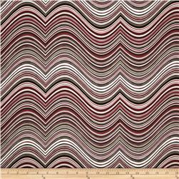 Robert Kaufman Vantage Point Contour Stripe Taupe
