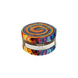 Artisan Batiks Elementals Geos 2.5 In. Jelly Roll Multi
