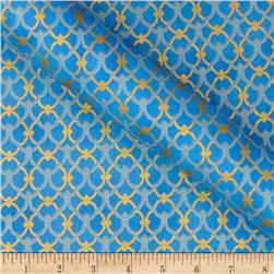 Alchemy Metallic Link-Knot French Blue