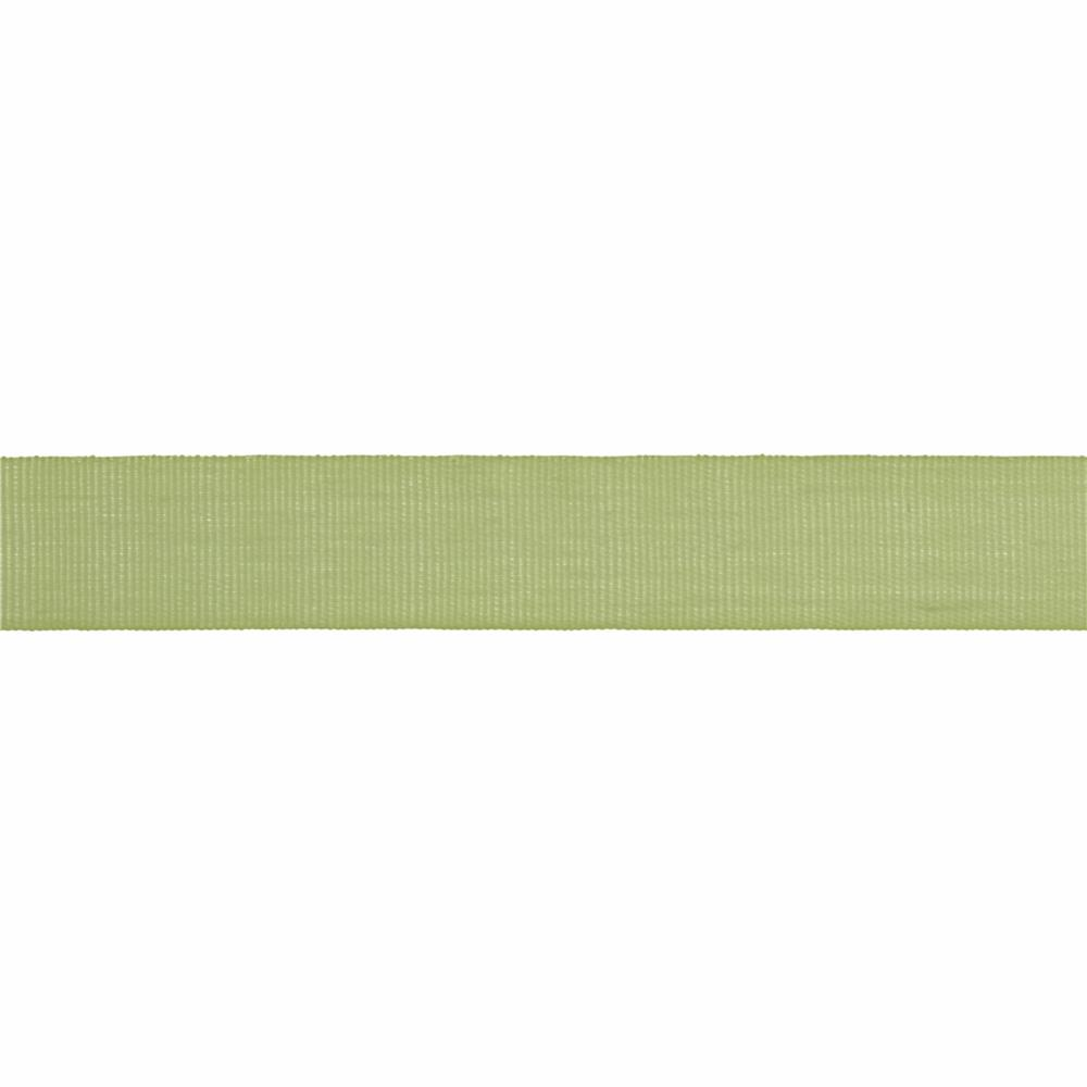 "5/8"" Faux Canvas Ribbon Light Celery"