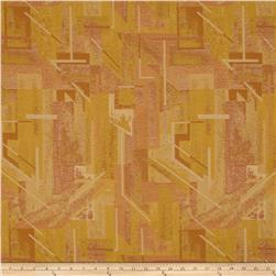 Robert Allen Promo Upholstery Mosaic Jacquard Aged Gold