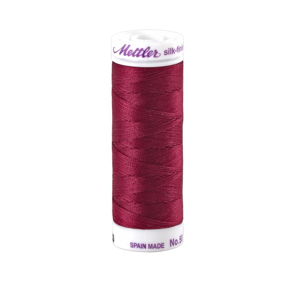 Mettler Cotton All Purpose Thread Pomegranate