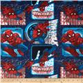 Ultimate Spiderman Badge Fleece