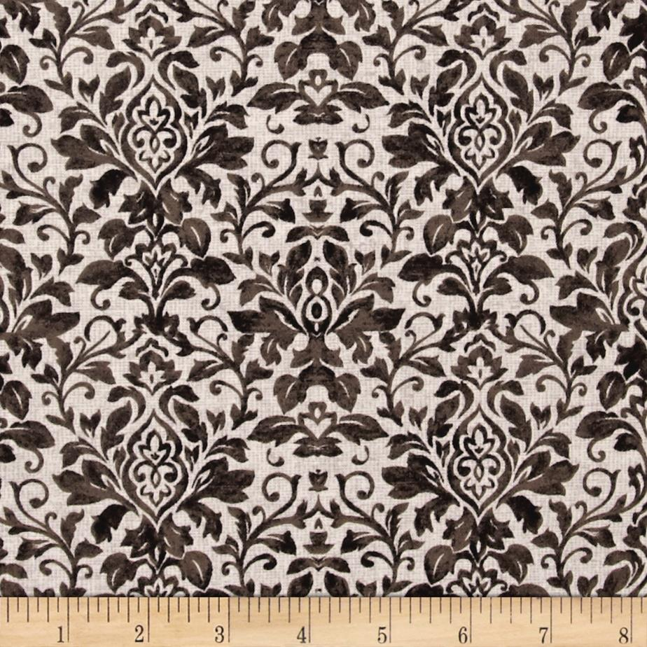 French Flea Market Damask Brown/Mocha
