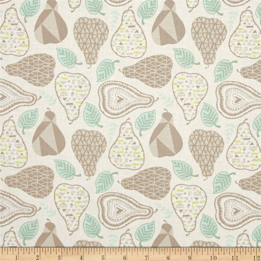 Moda North Woods Mod Pear Linen