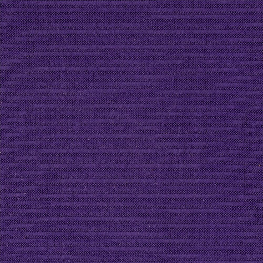 Hatchi 2X1 Rib Knit Purple