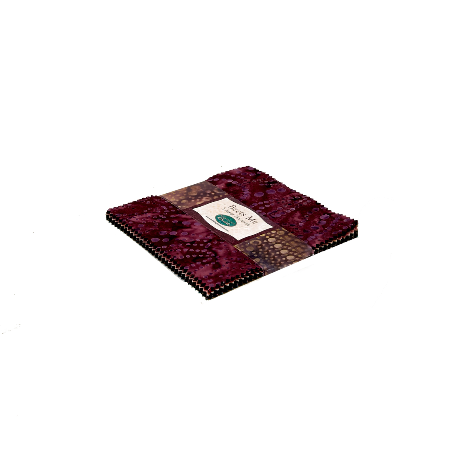 Wilmington Batiks Beets Me 5'' Squares by MM Fab in USA