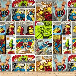 Marvel Comics Fury Art Multi