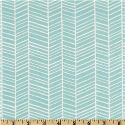 Joel Dewberry Modern Meadow Herringbone Pond Fabric