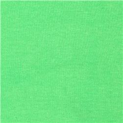 Cotton Baby Rib Knit Solid Vacation Green