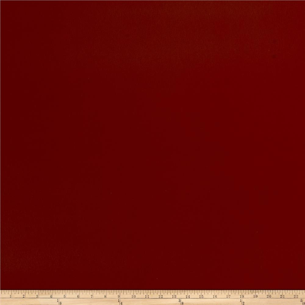 Fabricut Patent Style Faux Leather Claret