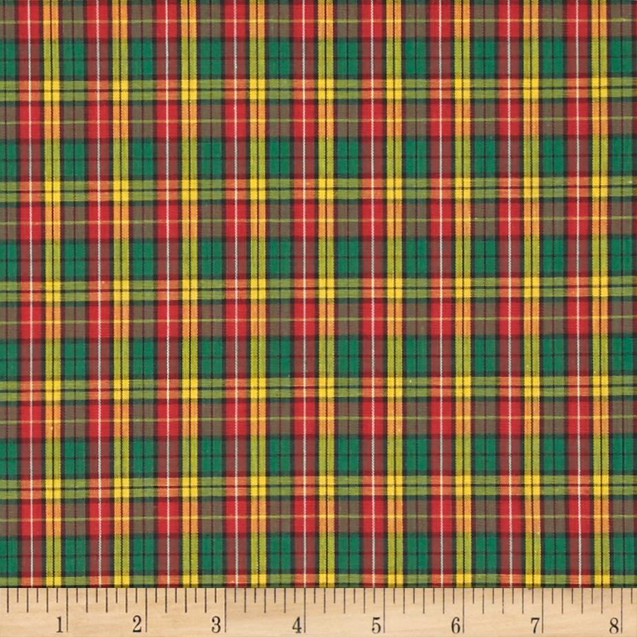 Tartan Plaid Red/Green/Yellow