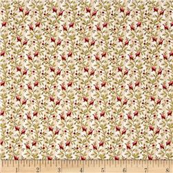 Nancy Gere Peyton Floral Stripe Cream