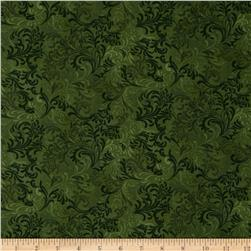Essentials Embellishment Forest Green Fabric