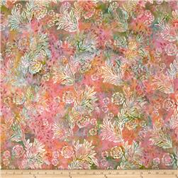 Bali Batiks Handpaints Flower & Leaf Parfait