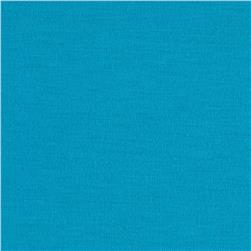 Stretch Jersey Knit Rich Turquoise Fabric