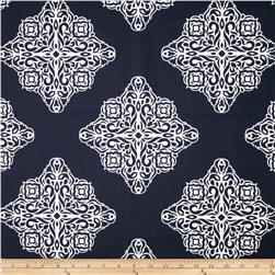 Esperanza Medallion Navy/White Fabric