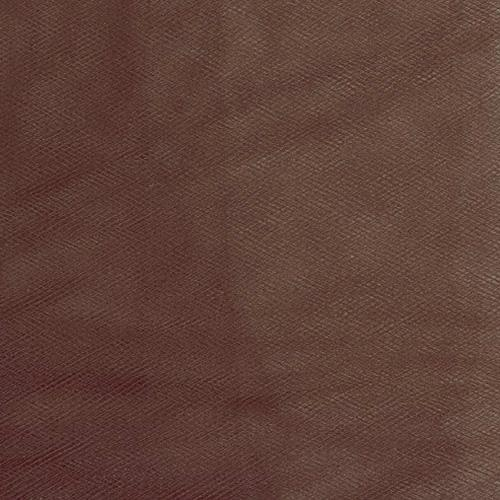 """54"""" Wide Tulle Brown"""