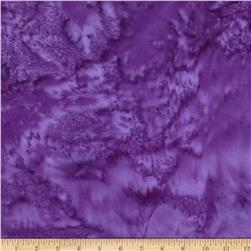 Island Batik Rayon Batik Grape Jellybean Purple