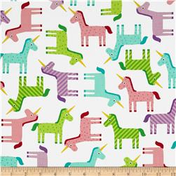 Michael Miller Wonder Unicorn Pastel Sweet Fabric
