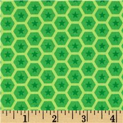 At the Zoo Tonal Honeycomb Green