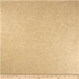 Richloom Faux Leather Distressed Schwimmer Sandstone