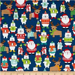 Novelty Christmas Novelty Scatter Blue
